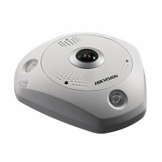 6.0 MP Fish-eye Network Camera IP66 IK10 Audio/Alarm IO / RS485